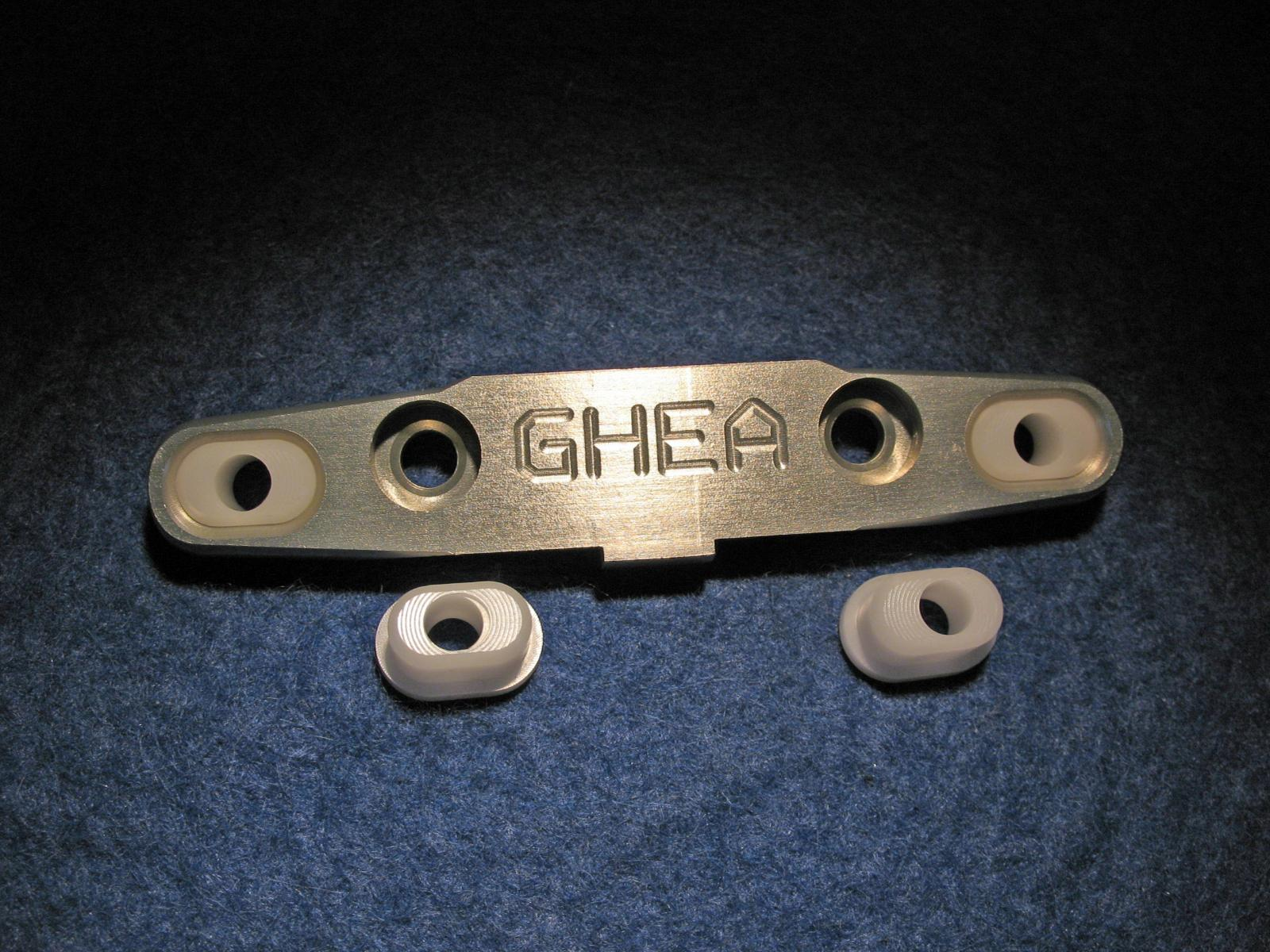 Toe Block including inserts