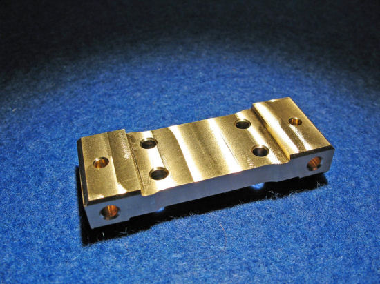 Bulkhead brass for Kyosho RB6 (30 gr.)